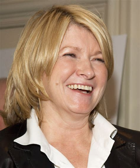 martha stewart haircut martha stewart medium straight casual hairstyle