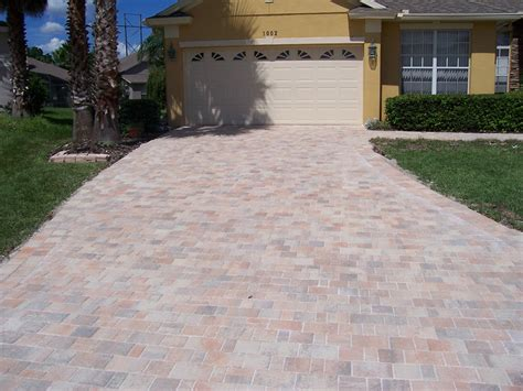 driveway pavers orlando fl affordable pavers at paverweb com