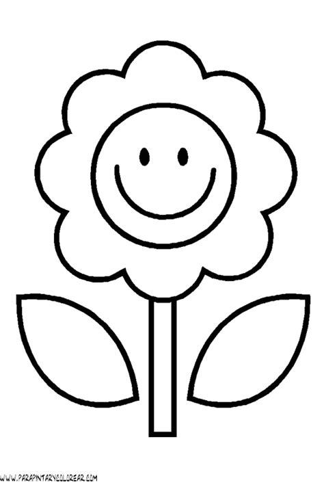 imagenes en blanco para colorear de flores dibujos para pintar de flores 131