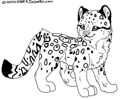 Leopard Coloring Pages To Download And Print For Free Leopard Coloring Page