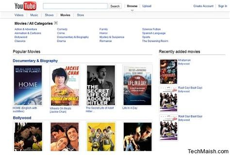 youtube movies full movies watch full length movies on youtube movies section added