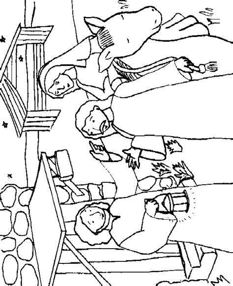 imagenes de posadas navideñas para colorear jos 233 y mar 237 a buscan posada dibujos b 237 blicos para colorear