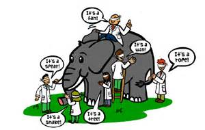 Blind Man And The Elephant Story Metabolomics Elephants And Blind Men Tekrighter S