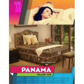1 Set Kasur Springbed Uk 160 Vienna Mustering Chicago deluxe pillow top sandaran panama central springbed