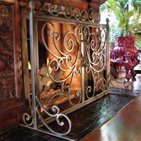 Fireplace Screens Columbus Ohio by Iron Studios Custom Ornamental Metalwork