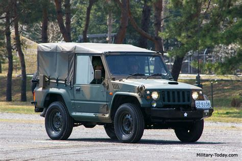 Japanese Army Jeep Mitsubishi Milit 228 R Technik Concept Cars Sonstige
