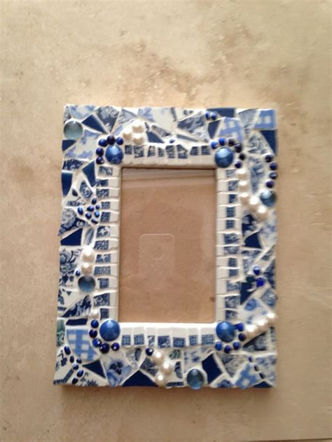 willow pattern mosaic 46 best mosaic blue and white china images on pinterest
