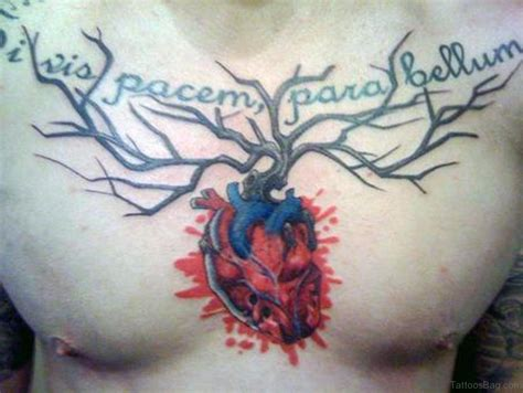 mind tattoo 64 mind blowing tree tattoos for chest