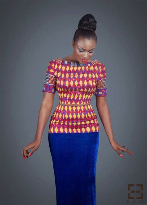african print crop top african clothing african fashion pistis ghana cropped top high waisted skirt african print