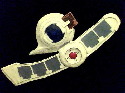 Yugioh Duel Disk Papercraft - academy duel disk by woler on deviantart