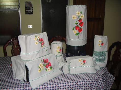 jueg de cocina juego de cobertores para cocina pintura en tela