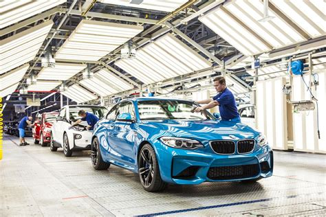 bmw factory assembly line 2016 bmw m2 production commences in germany gtspirit