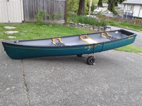 canoes with square stern 12 ft esquif mallard canoe with square stern esquimalt