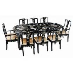 table chinoise de salle 224 manger avec 6 chaises et 2