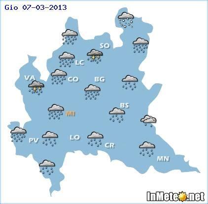meteo pavia domani e prossimi giorni lombardia ancora maltempo vediamo tutte le previsioni