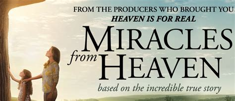 How Can I Miracle From Heaven For Free Miracles From Heaven Starts Wednesday March 16th 2016 Athens Palace