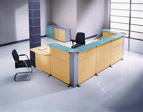 modern salon reception chairs l shaped salon reception desk home design l shaped