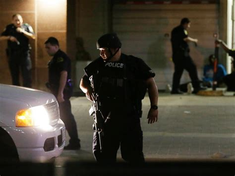 cop shoots dallas ambush shooting by lone gunman was well planned and thought out say