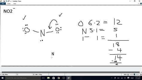 no2 lewis diagram how to draw the lewis structure of no2