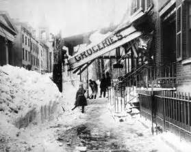 the great blizzard of 1888 incredible pictures of the great blizzard of 1888 how one
