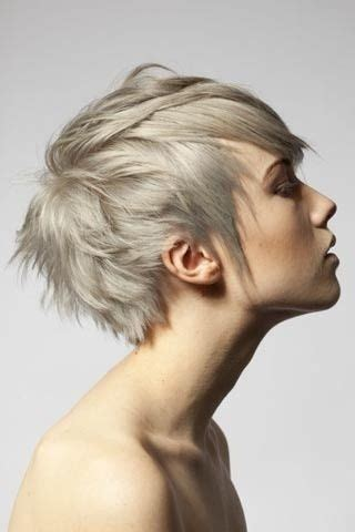 short ash blond hair ash blonde short crop hair hair inspiration pinterest