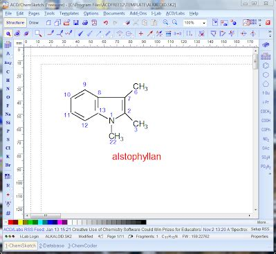 structure drawing software free molecular structure drawing students guide to free