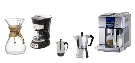 Coffee Brewer Types images