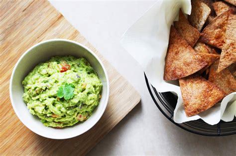 TGIF Recipe: Guacamole with Whole Wheat Tortilla Chips ... Guacamole And Tortilla Chips Healthy
