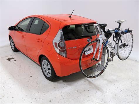 2012 Prius Bike Rack by 2012 Toyota Prius C Thule Helium Aero 2 Bike Rack 1 1 4
