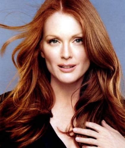 Julianne More Hair Color | celebrities with amazing auburn hair color modern