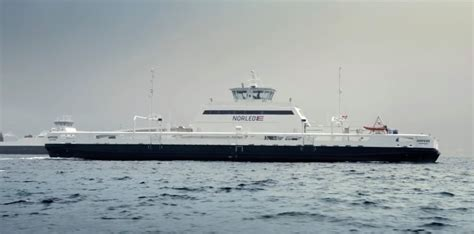 ferry electric all electric ferry cuts emission by 95 and costs by 80