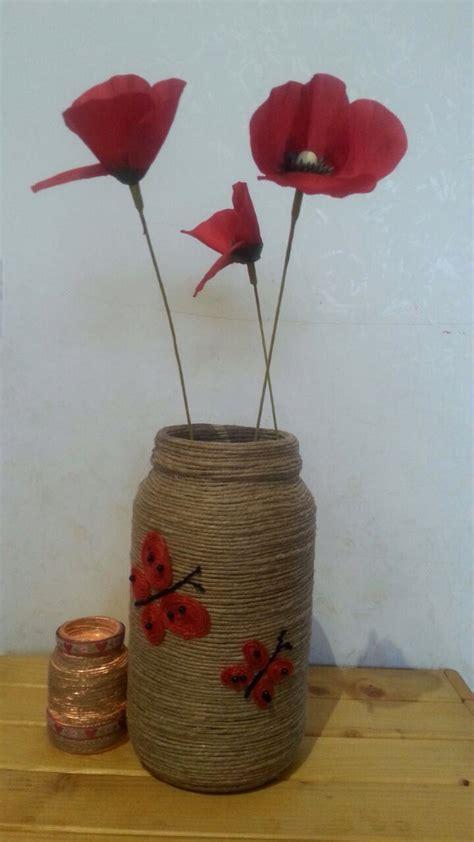 vaso di vetro oltre 25 fantastiche idee su spago vaso su