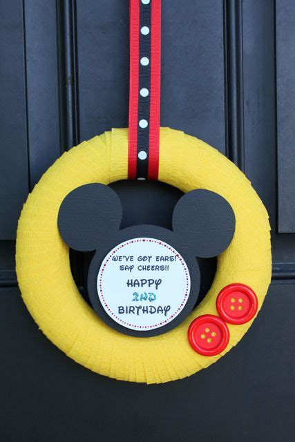 8564 Yellow Mickey Mouse mickey mouse birthday ideas birthdays birthday