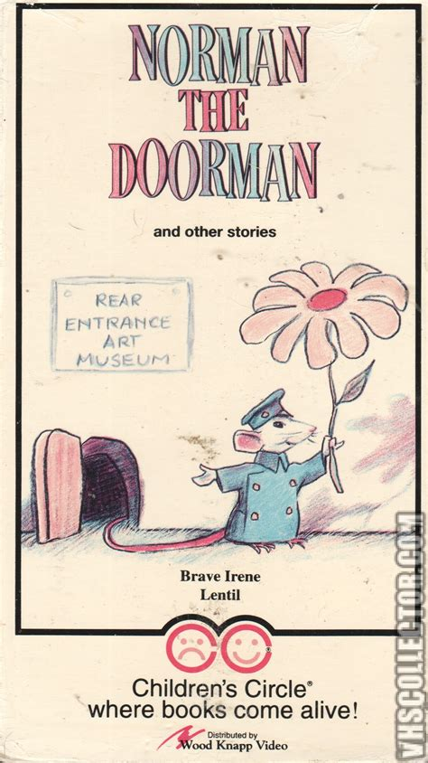 norman the norman the doorman and other stories vhscollector your analog videotape archive