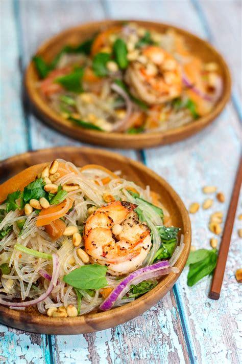 thai glass noodle salad maya kitchenette