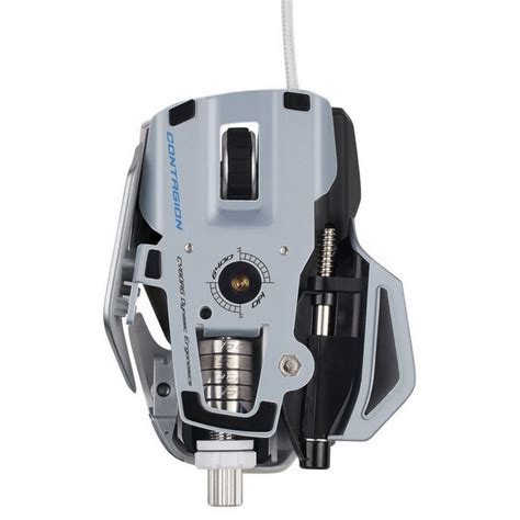 Madcatz R A T 7 Gaming Mouse Putih mad catz r a t 7 contagion gaming mouse pccomponentes