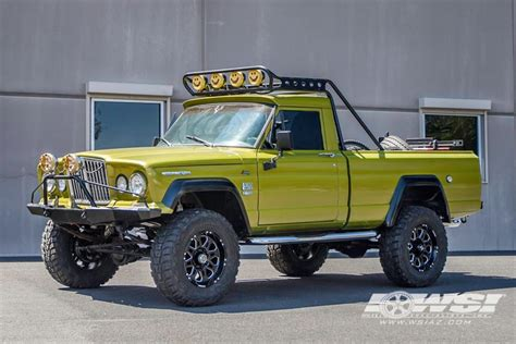 1968 jeep gladiator 1968 jeep gladiator with 18 quot hostile wheels by wheel