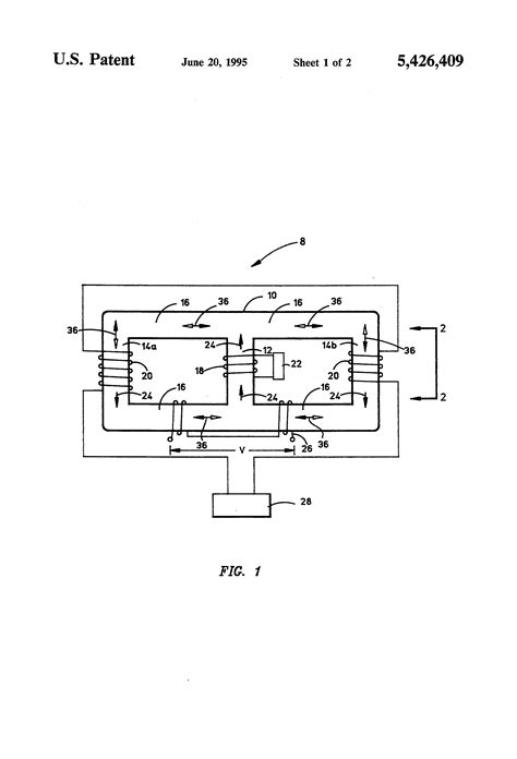 voltage controlled inductor patent us5426409 current controlled variable inductor patents