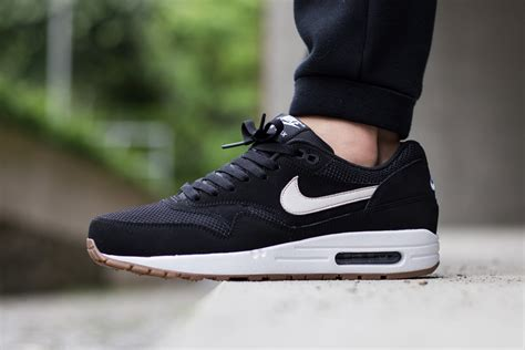 Nike Airmax One nike air max 1 essential black white gum sneaker bar detroit