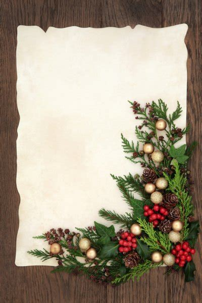 fashioned christmas border stock photo  marilyna