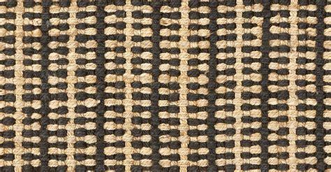 Stripe Jute Rug by Vanya Woven Stripe Jute Rug 160 X 230cm And Black