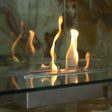 nu freestanding fiero ethanol fireplace modern