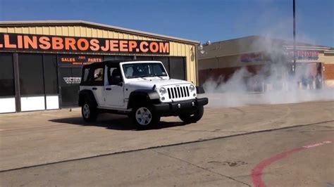 Collins Brothers Jeep Burnout Challenge Dennis Collins Of Collins Brothers