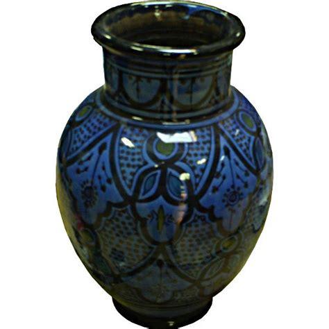 Moroccan Vases by Moroccan Ceramic Vase Pottery Of Safi Morocco
