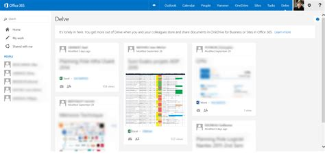 Office 365 Delve Delve Comment Trouver L Information Sur Office 365
