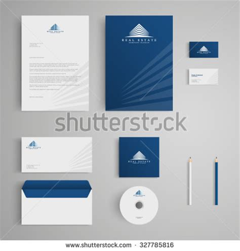 Stationery Stock Card Template by Stationery Template Real Estate Logo Apartment Stock