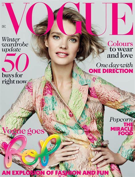 Miller Is Vogue Uks December Cover by Vodianova Graces The December 2012 Cover Of Vogue Uk