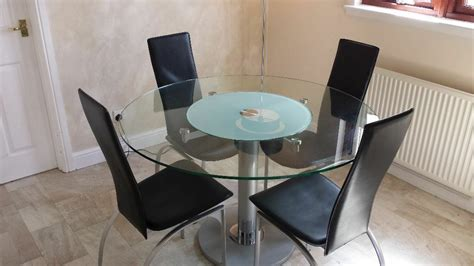 modern  glass dining table  chairs  lazy
