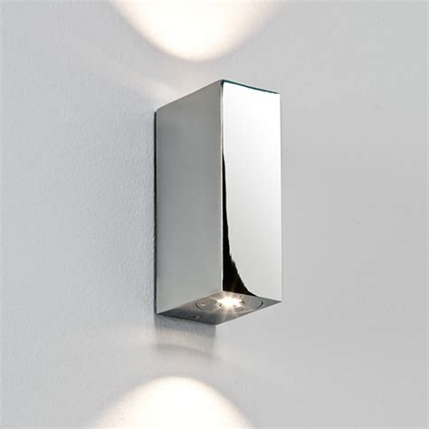 Bathroom Sconces Polished Nickel Bathroom Up And Down Wall Lights From Easy Lighting