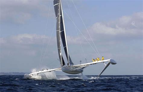 catamaran top speed the catamaran l hydroptere broke two world records news